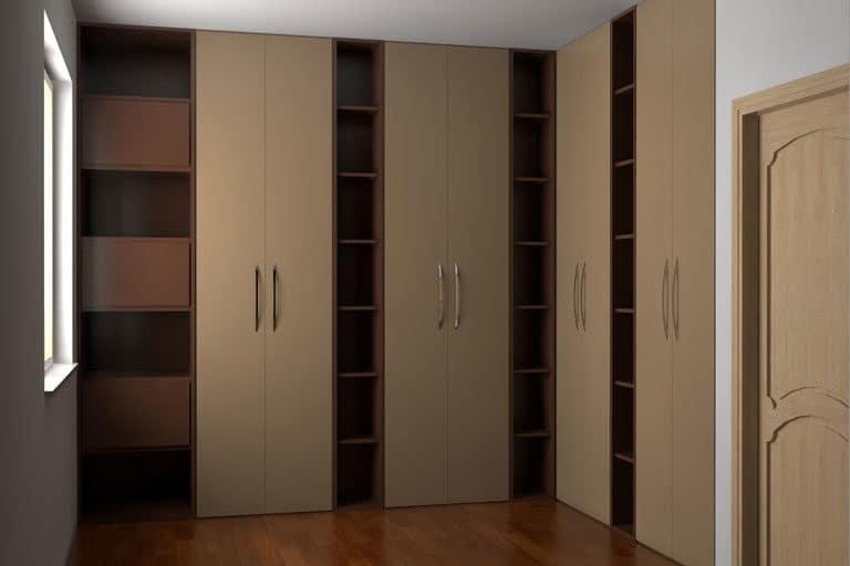 armadio su misura e libreria