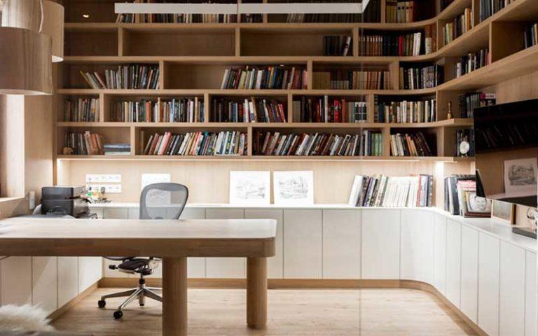 Libreria ufficio su misura
